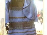 Blue And Black White Gold Dress Colour