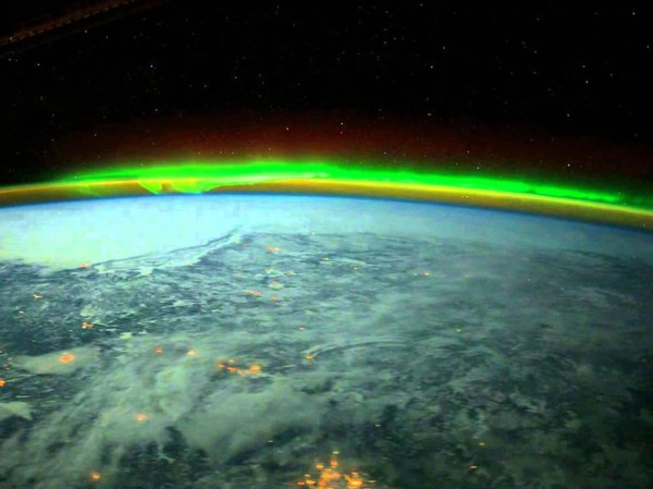 Northern Lights as Seen From Space NASA