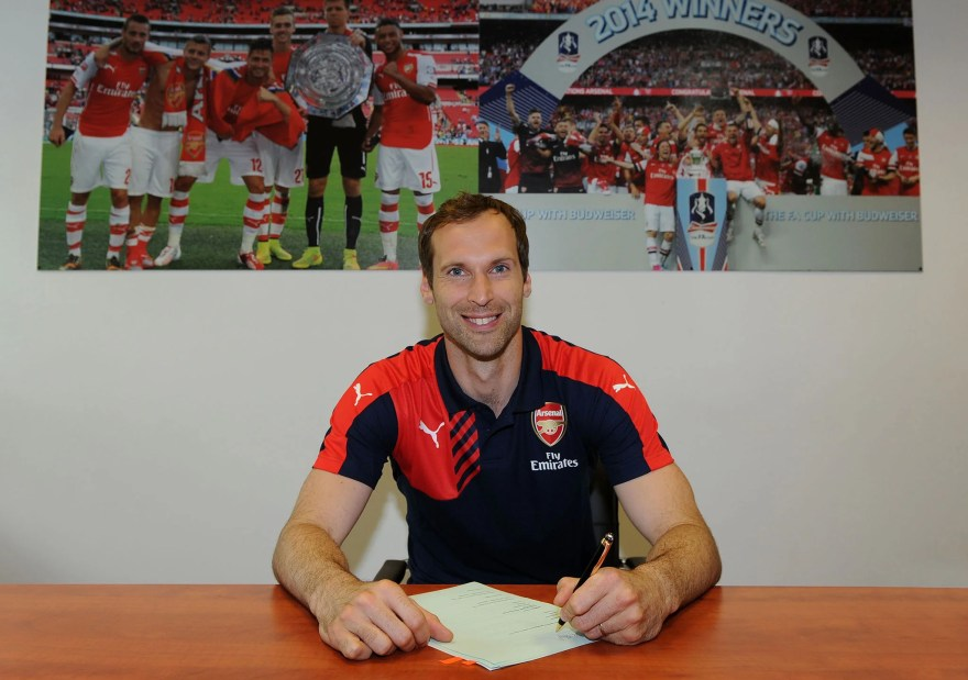 Petr Cech joins Arsenal: David Seaman believes ex-Chelsea ...