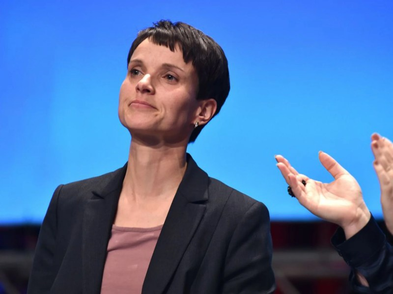 Frauke Petry Appointed Afds New Leader As German Eurosceptics Turn To The Right The Independent