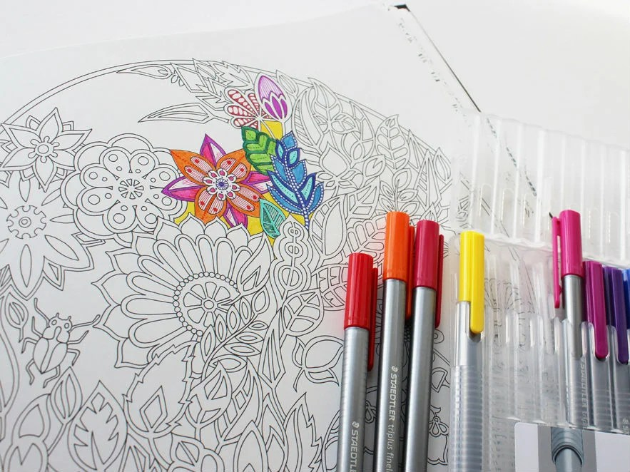 12 best colouring books