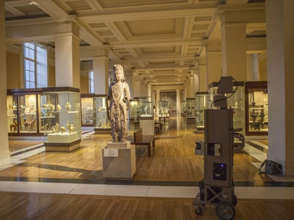 Google Street View People Explore British Museum Online Independent