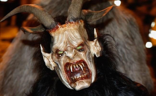 Krampus Austrian Children Fear The Festive Bogeyman Now