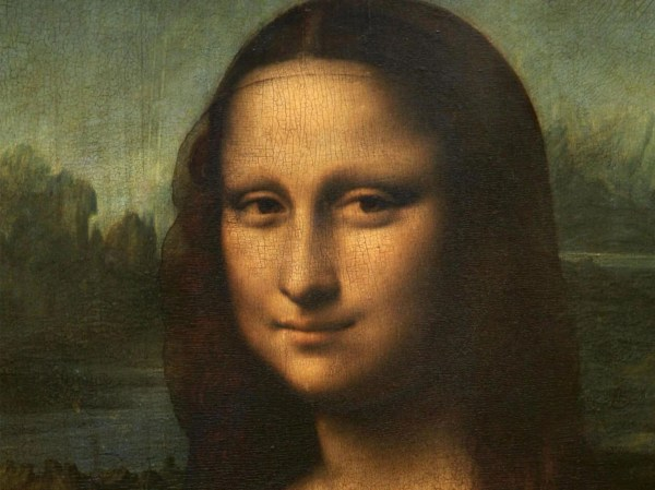 Hidden Portrait ' Under Mona Lisa Lead