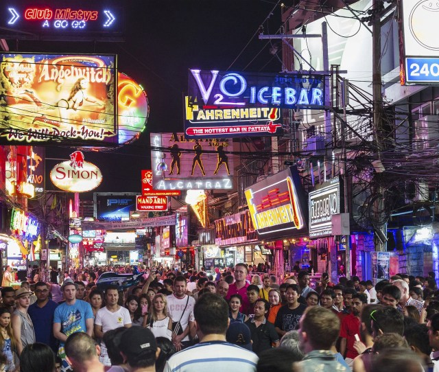 Nightlife In Pattaya Thailand