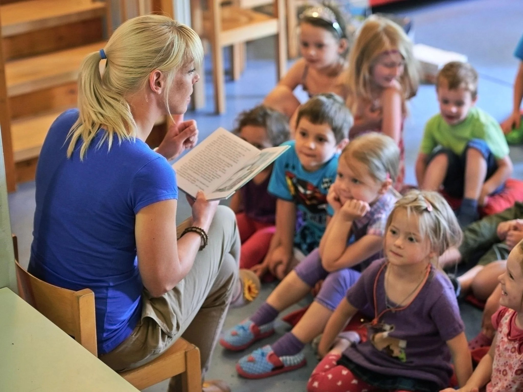 Children Better Off At Nursery Than At Home With Parents