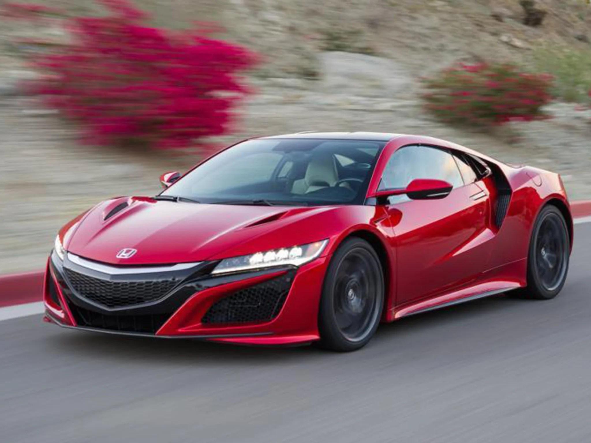 honda nsx car review
