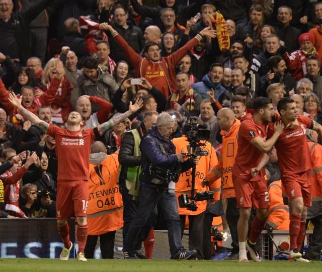 Liverpool Vs Borussia Dortmund Match Report Dejan Lovren Seals One Of The Great Anfield Comebacks