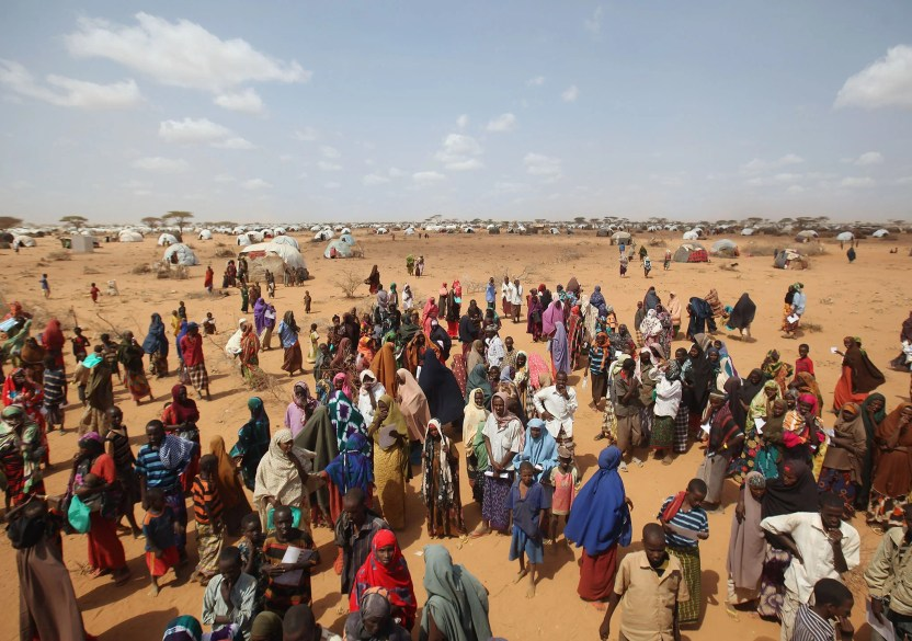 Image result for Somalis in dadaab camp