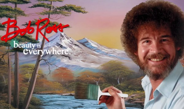 Netflix Streaming Calming Painter Bob Ross Remind
