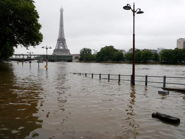 Paris Floods Show Parts Of City Submerged