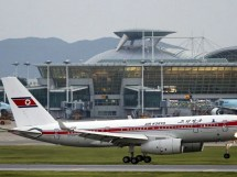 Fire Board North Korean Plane Forces Emergency Landing