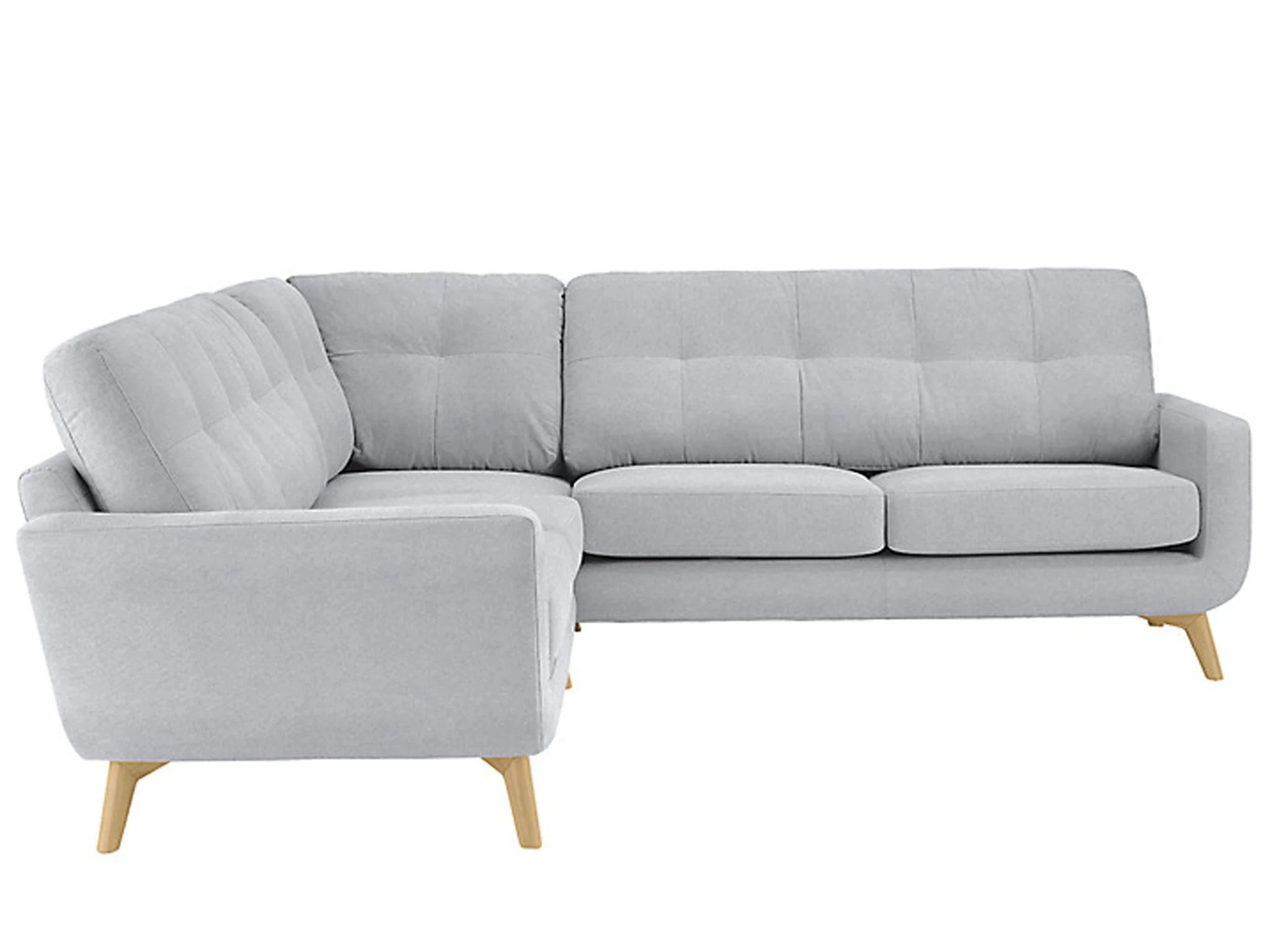 john lewis loose chair covers white leather recliner 11 best corner sofas the independent this popular range by has a retro feel with curving base angled legs and stitched back detailing version connects couple of