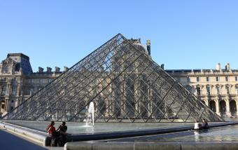 Louvre evacuated after 'security alert' just before Macron due to speak