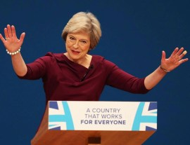 Image result for speech theresa may