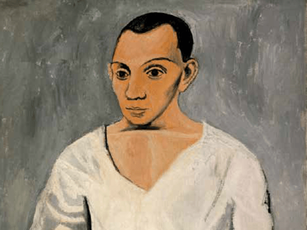 Picasso Self Portrait Painting
