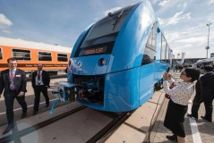Germany unveils zero-emissions train that only emits steam