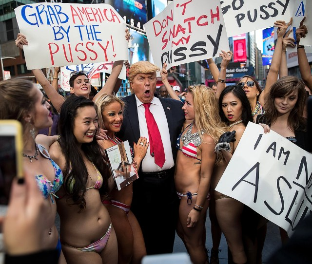 Donald Trump And The Power And Origin Of The Naked Protest