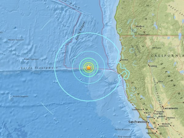California earthquake latest 65 magnitude tremor