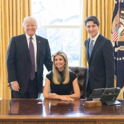Steel Chair In Wwe Slip Covers For Sale Ivanka Trump Photographed Sitting Us President's Angers American Public | The Independent