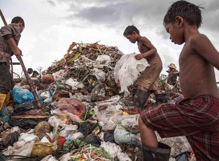 650 million people in the world are currently living in extreme poverty - around 9 per cent of the global population