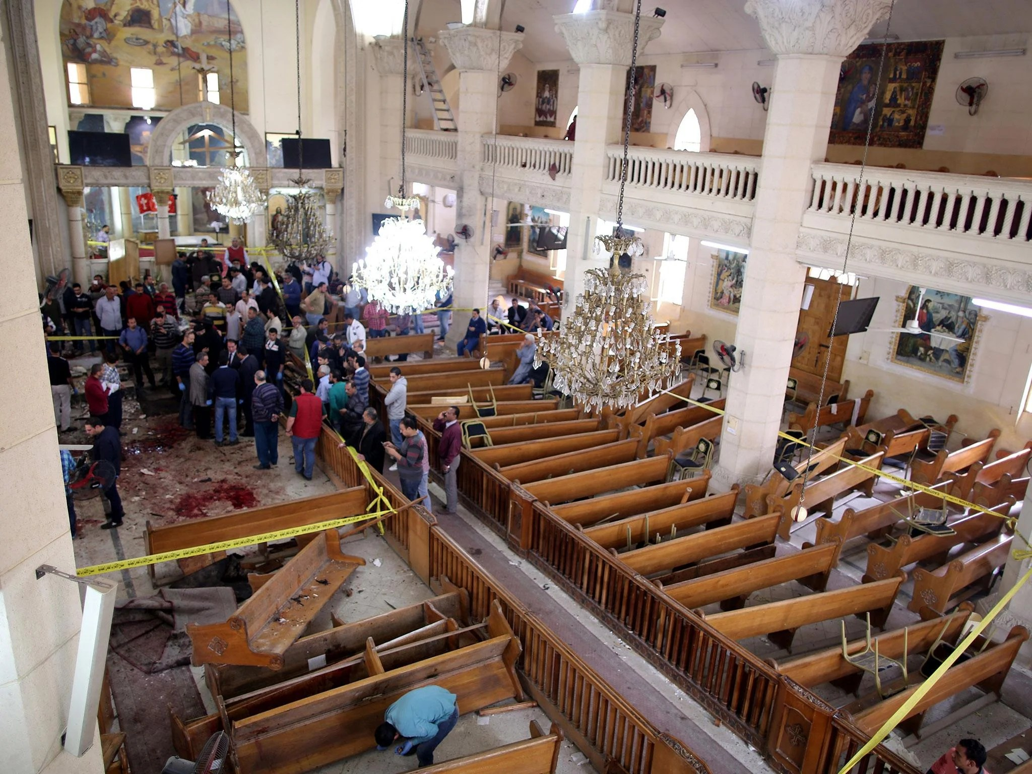 Egypt church bombings: Isis claims responsibilty for two
