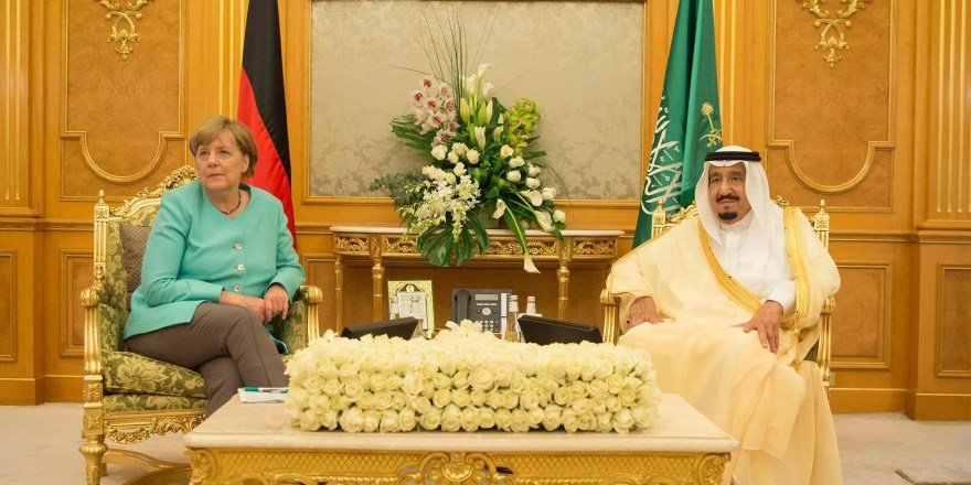 Angela Merkel rejects headscarf dress code in meetings with Saudi Arabia's King Salman