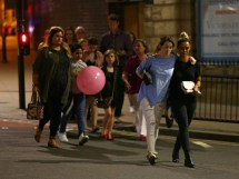 Manchester Attack Member Of Public Leads 50 Teenagers