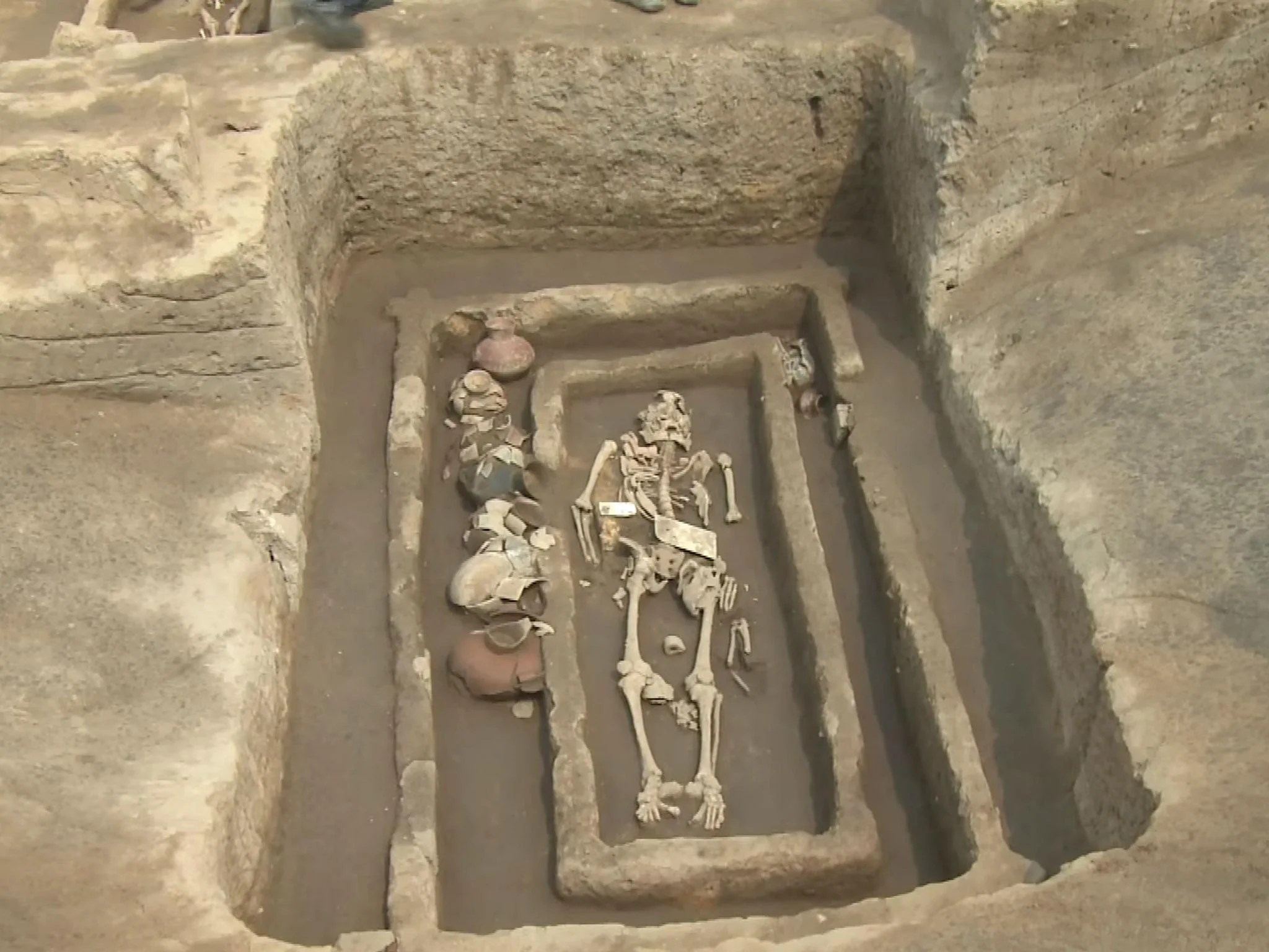Skeletons Of 5 000 Year Old Chinese Giants Discovered By
