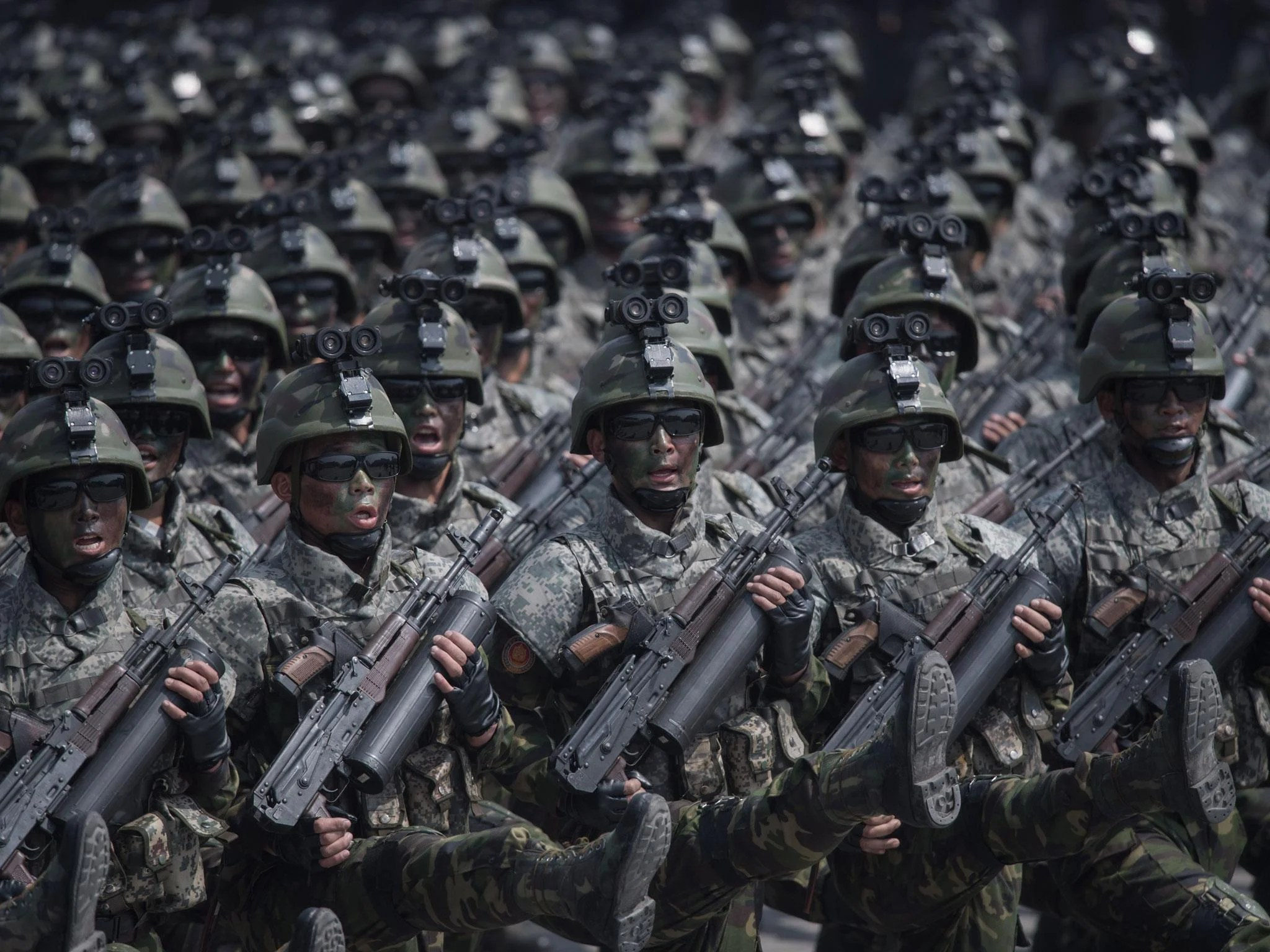 North Korean Sol Rs Told War Is Imminent As Tensions With Us Rise Even Higher