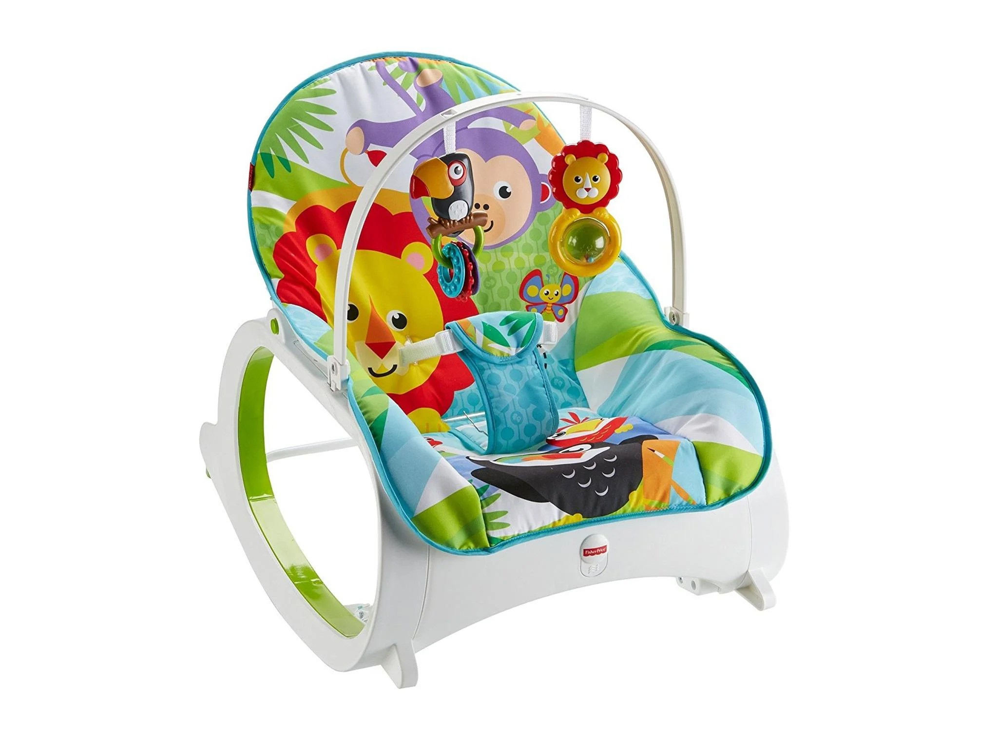 baby sleeping chair swing olx lahore 8 best bouncers the independent fisher price infant to toddler rocker 63 80 amazon