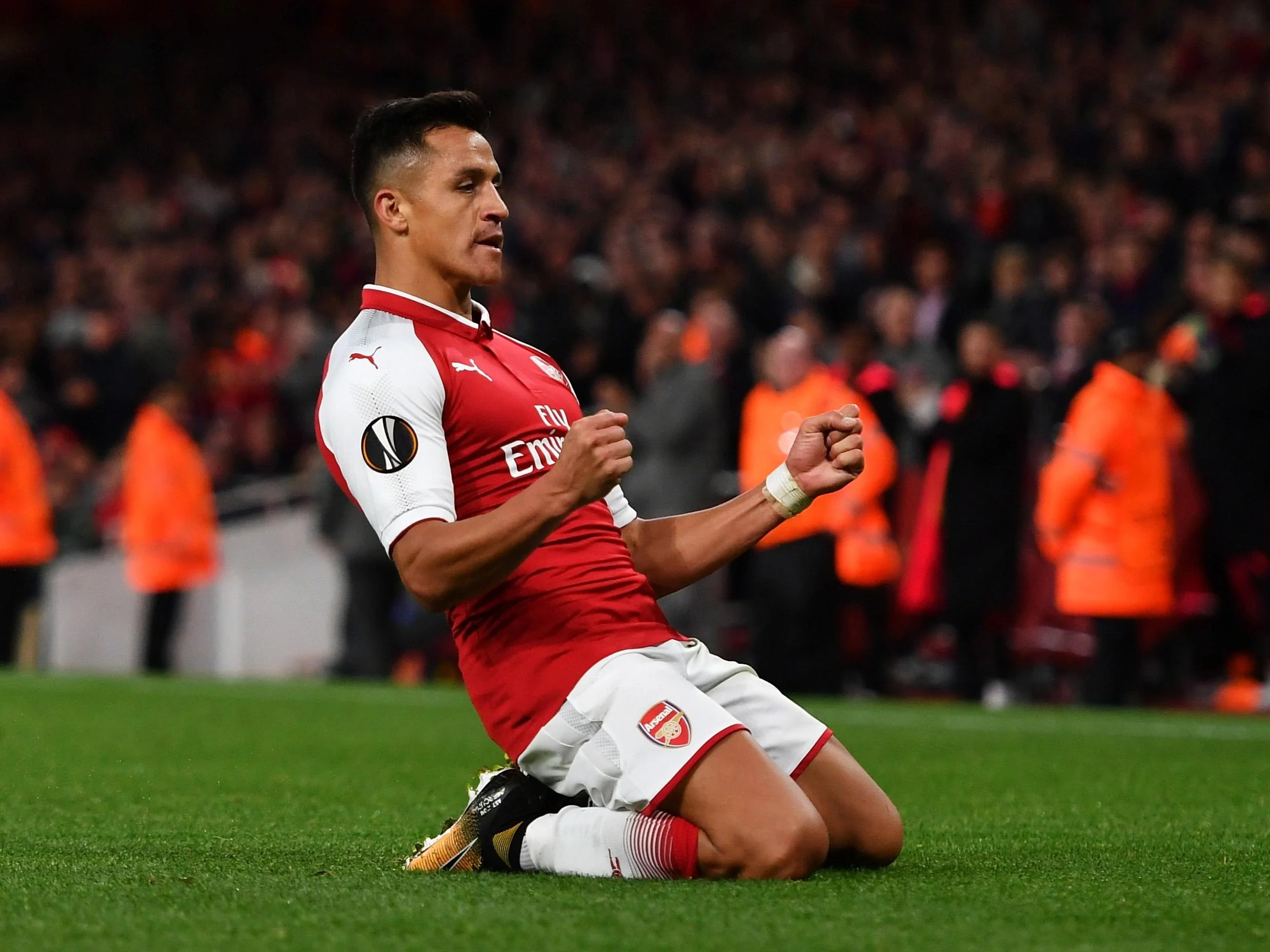 Alexis Sanchez's Evening At The Emirates Started In A Sulk