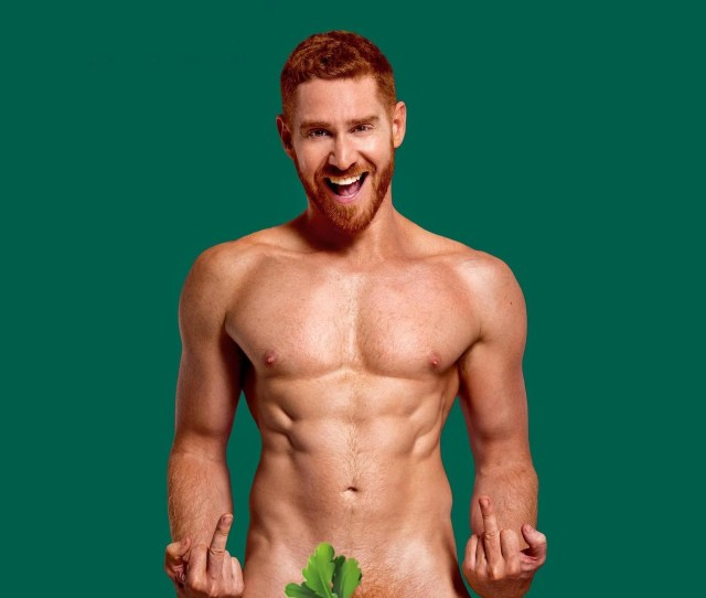 New Nude Calendar Trying To Make Ginger Pubes Sexy Is Looking For Male Volunteers
