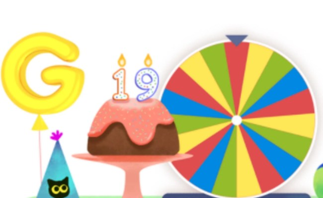 Google Birthday Surprise Spinner The Best Games And How