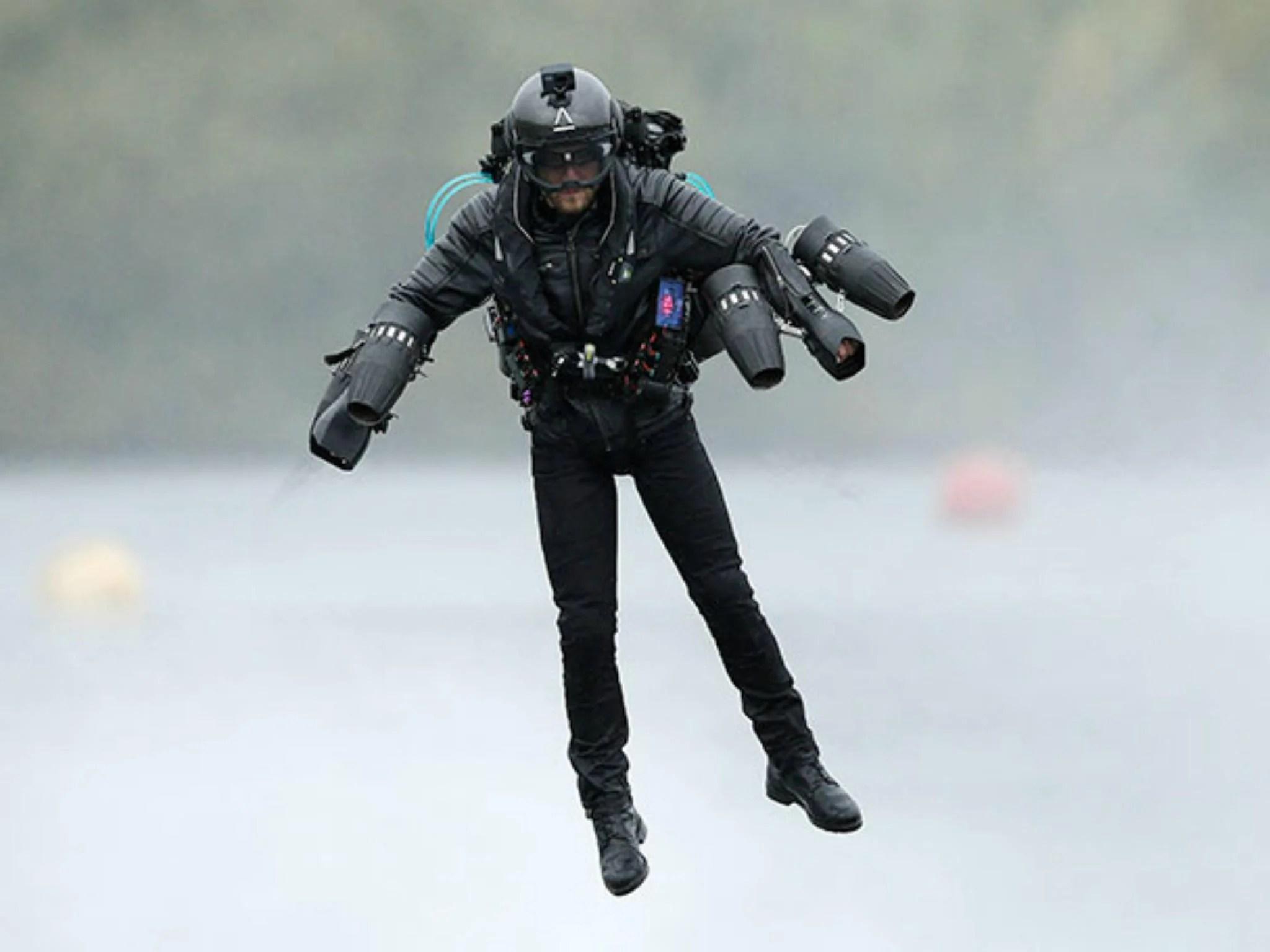 Iron Man Style Flight Suit Inventor Sets Guinness World