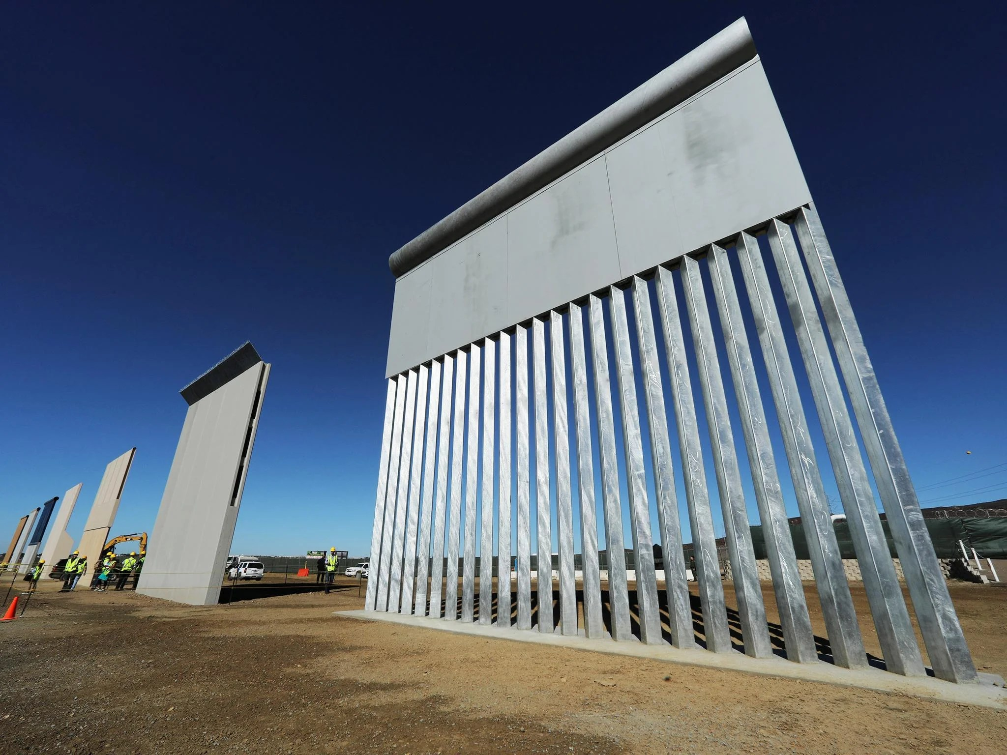 Trump border wall prototypes: Which design will win