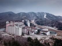 Winter Olympics 2018 Abandoned South Korean Ski Resort