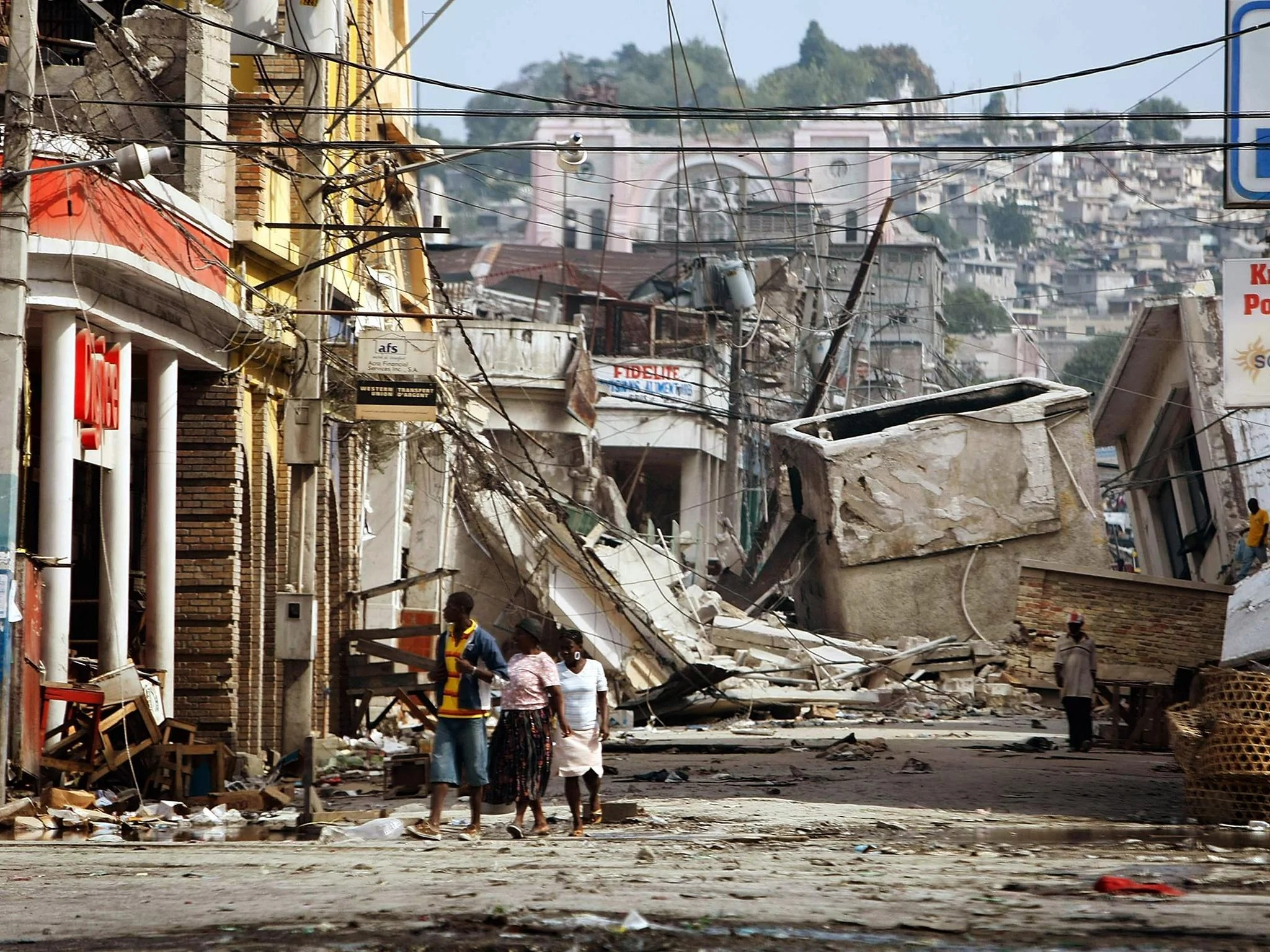 Haiti Suspends Oxfam Great Britain Aid Work Pending Investigation Intoual Misconduct