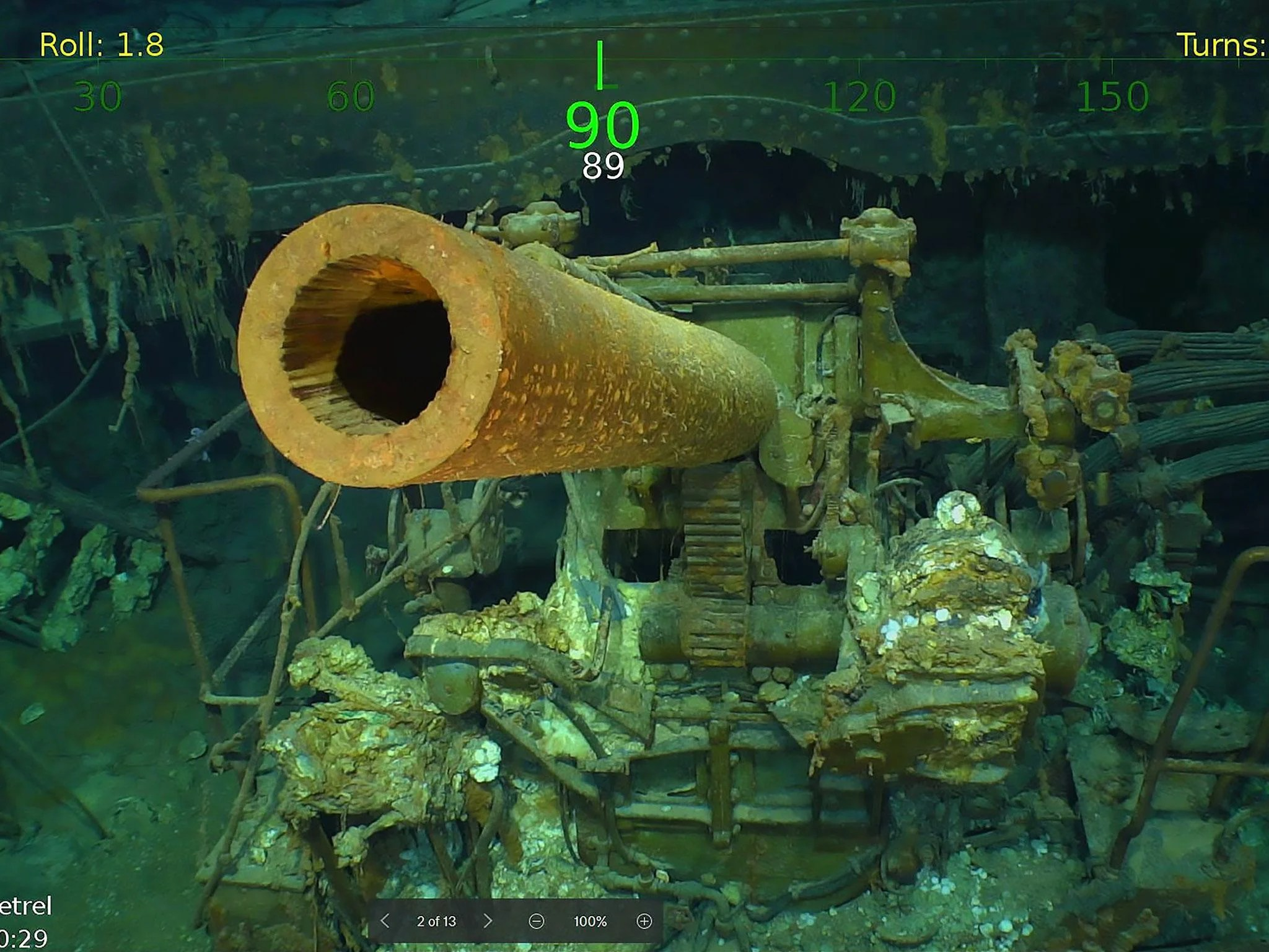 Uss Lexington Wreck Of Second World War Aircraft Carrier Found In Coral Sea After 76 Years