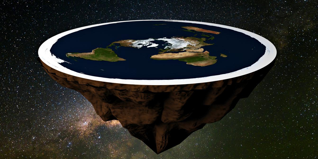 flat earthers deny taking