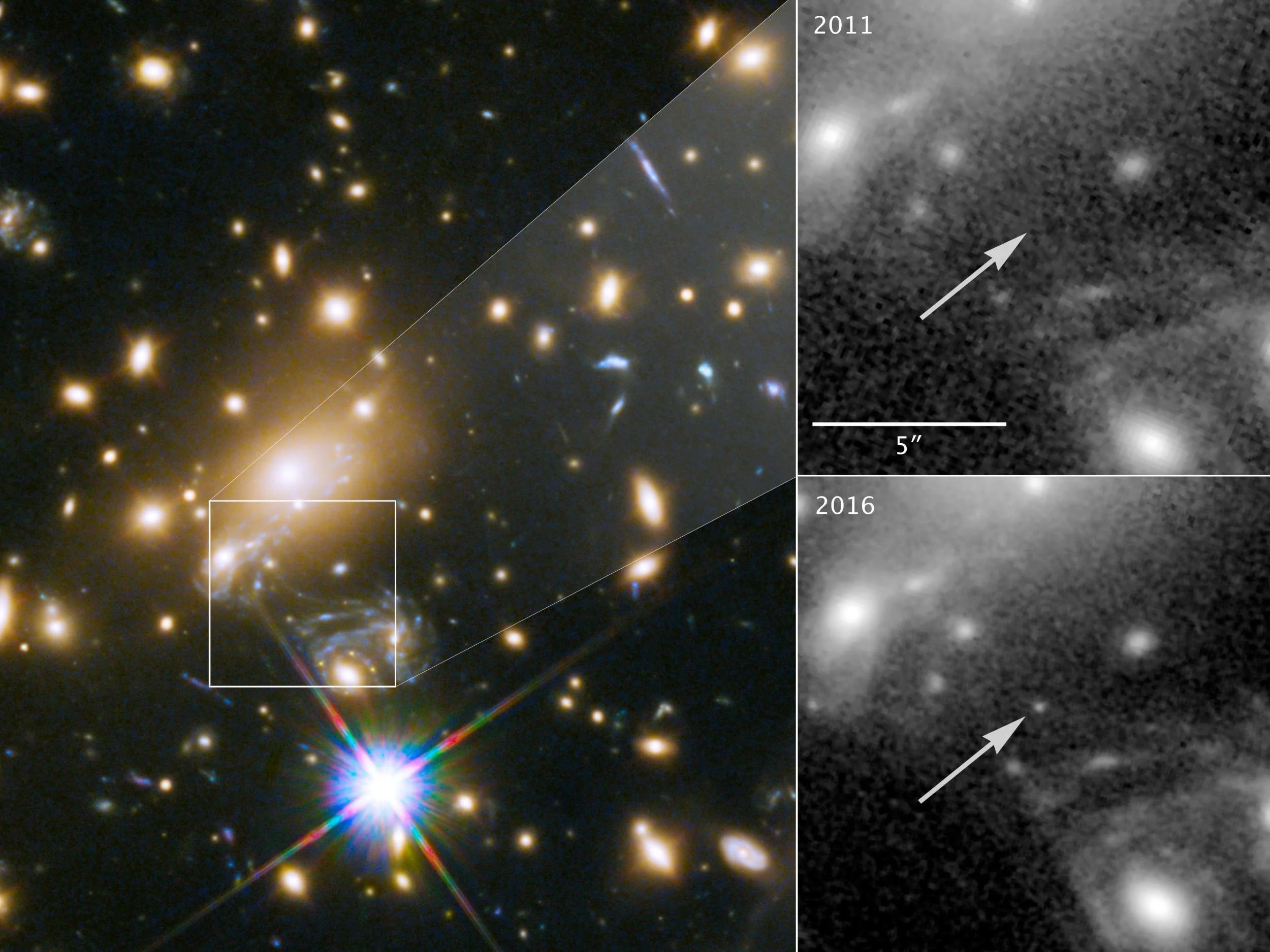 most distant star ever