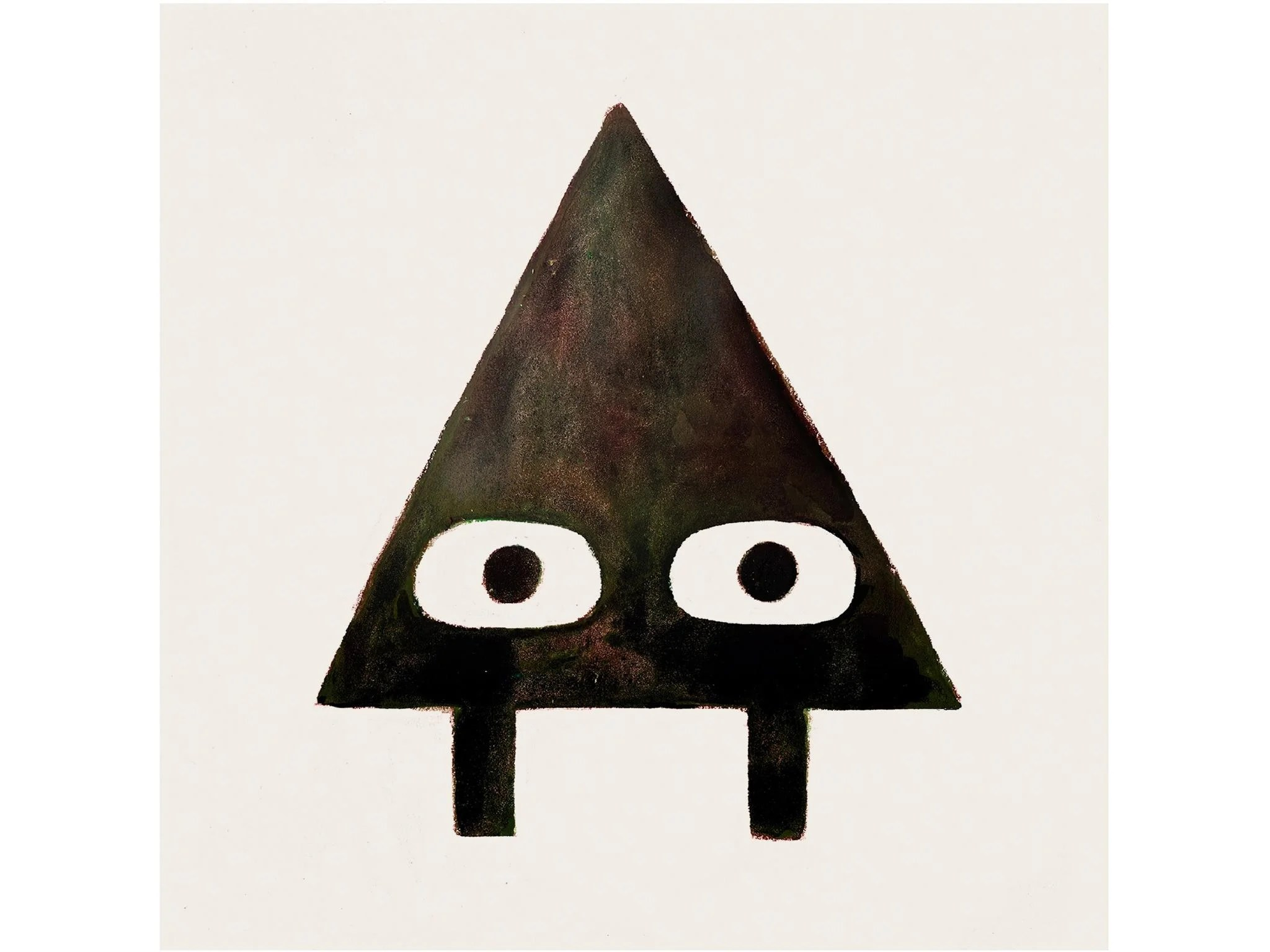 Triangle, The Anti-Hero Of This Entertaining Tale By Mac Barnett And Jon  Klassen, Is A Mischievous Cove. He Likes To Play Tricks On His Friend  Square,