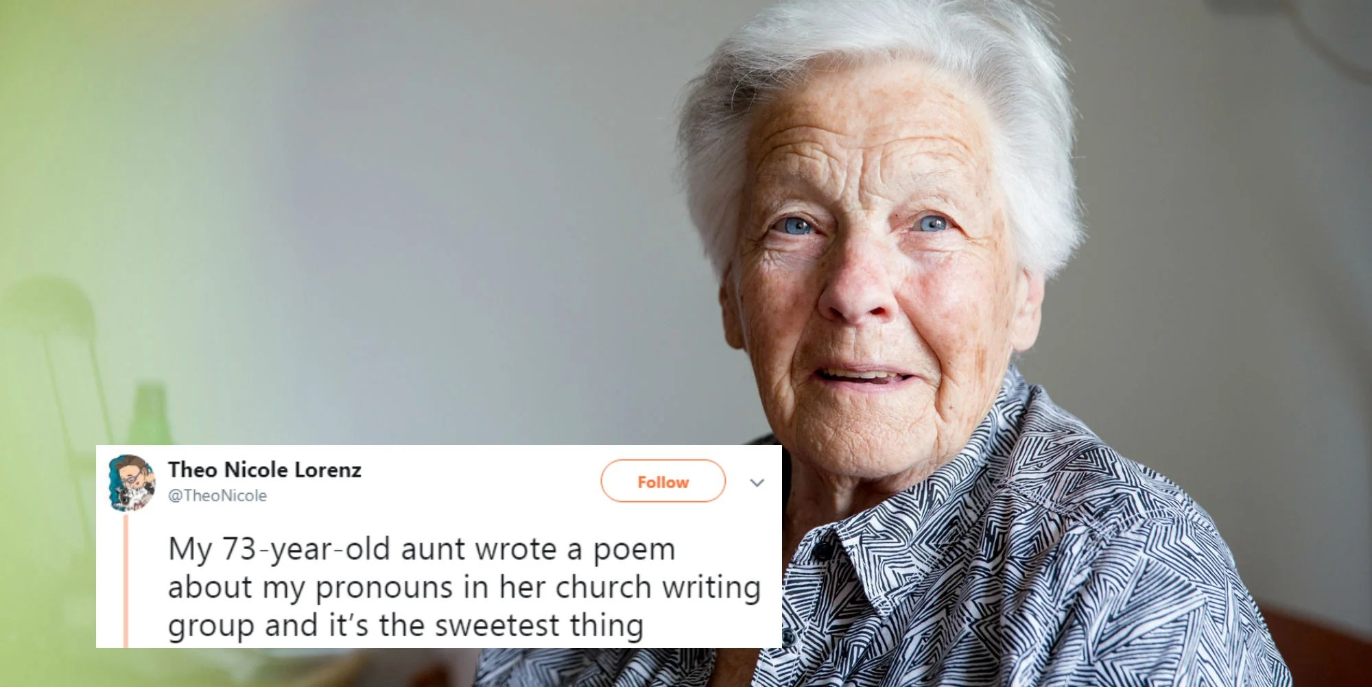A Poem By A 73 Year Old Woman About Non Binary Pronouns Has Gone Viral
