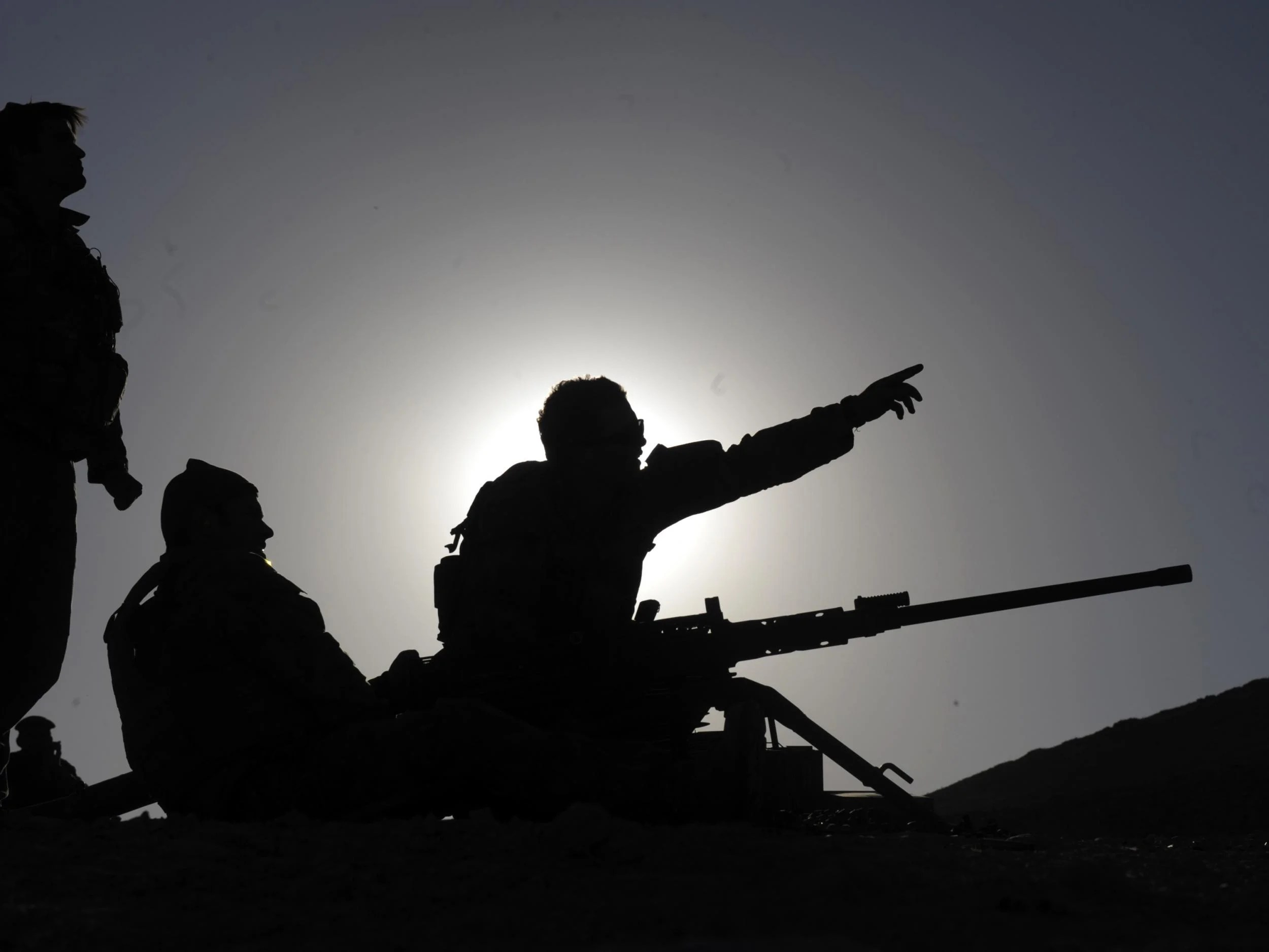 Australian soldiers in Afghanistan's southern province Uruzgan