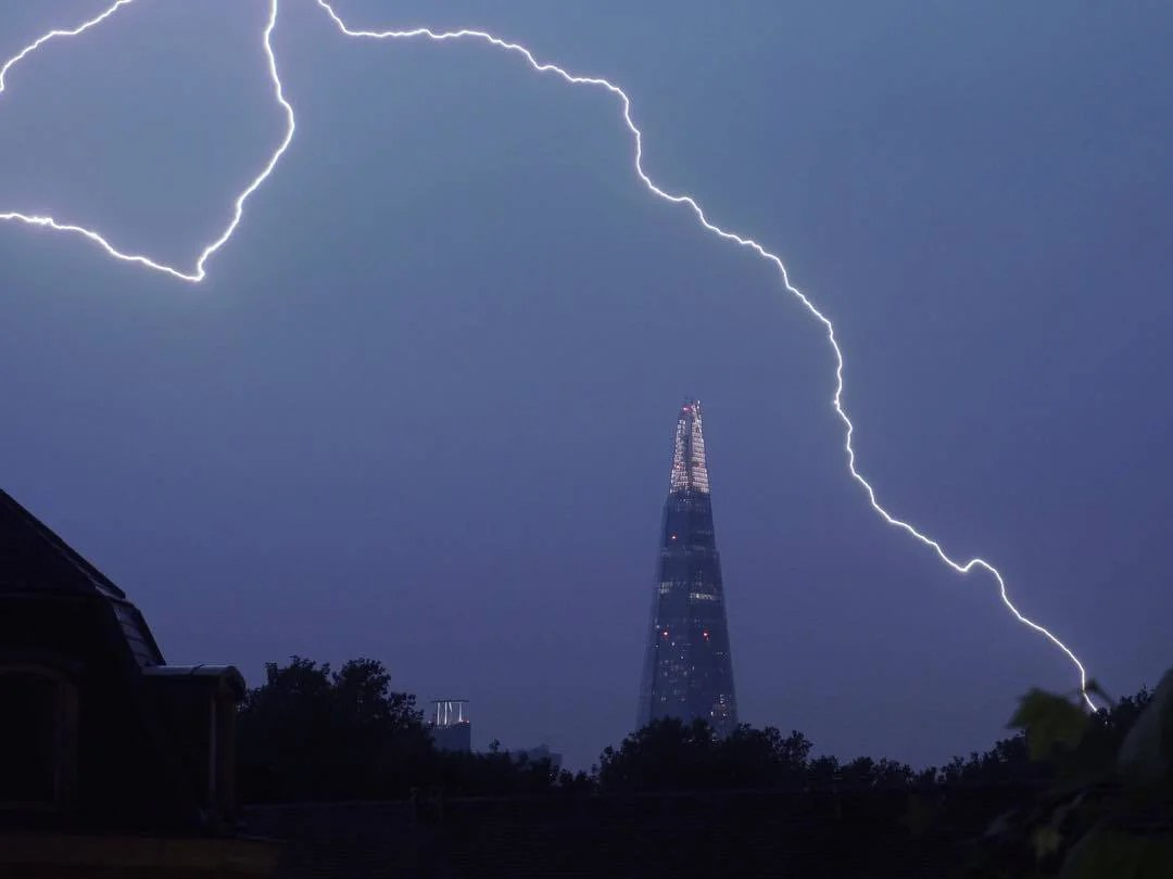 Uk Weather Met Office Issues First Ever Thunderstorm