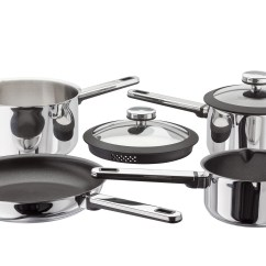 Kitchen Pan Set Mini Island 12 Best Saucepan Sets The Independent Another Professional Level For Keener Cook Glass Lids Make Draining A Breeze And We Also Like Internal Measuring Guides So You Don T Have