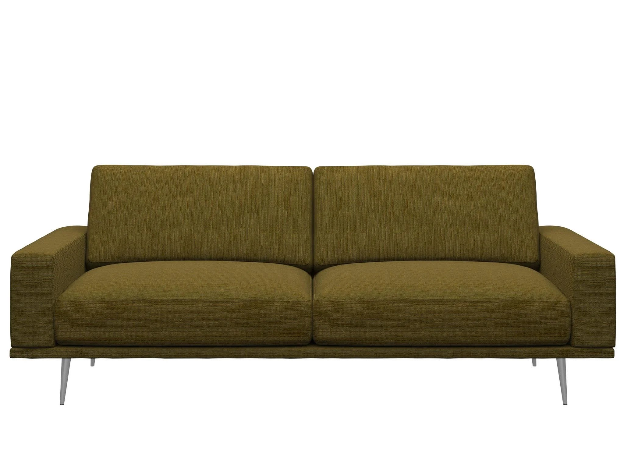 one and half seater sofa chesterfield fabric australia 8 best two sofas the independent seventies are cool again mustard yellow is new millennial pink making this modish 2 5 yes we ve cheated given you an extra