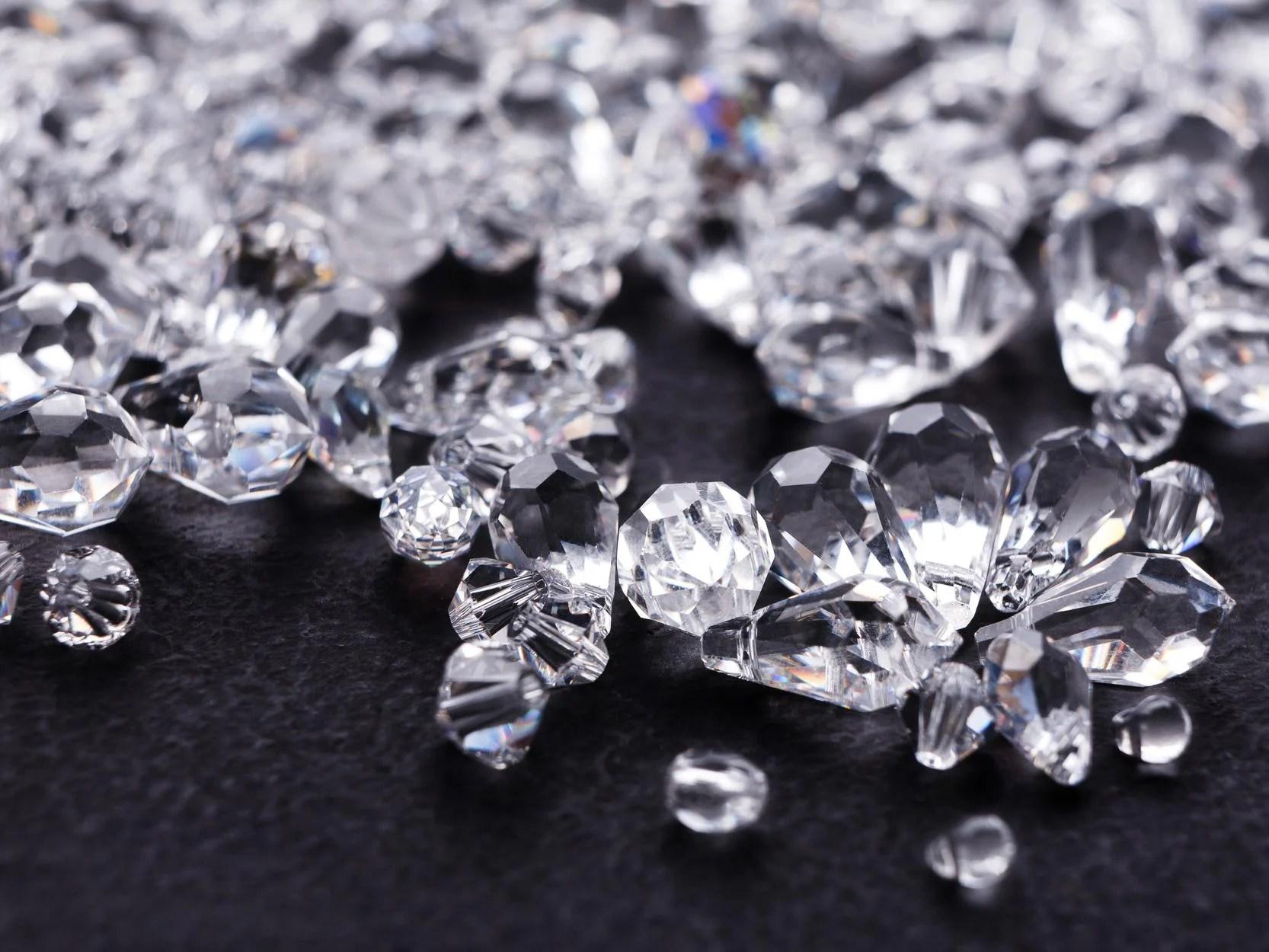 quadrillion tonnes of diamond