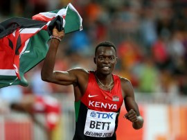 Image result for Kenyan hurdler Nicholas Bett dies at 28