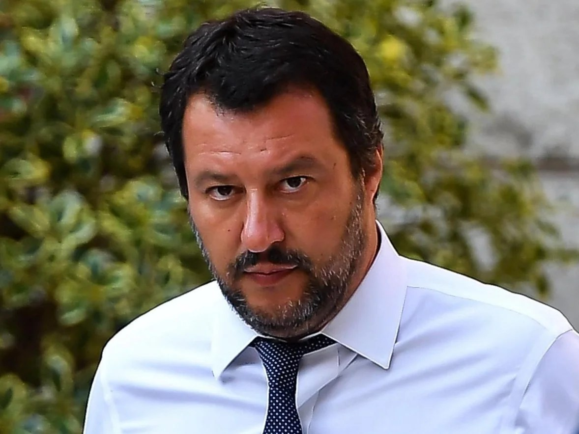 Matteo Salvini says he is sad but content in Instagram